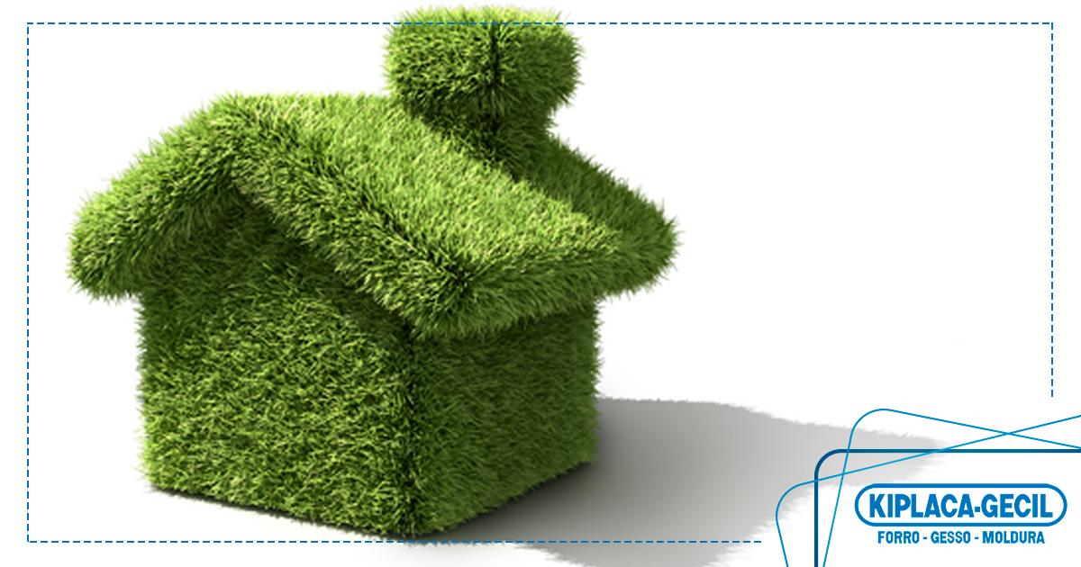 projeto sustentável construção drywall